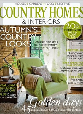 Country Homes and Interiors  featured Country Knole interior designers in Somerset