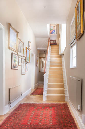 Victorian Country House Hallway